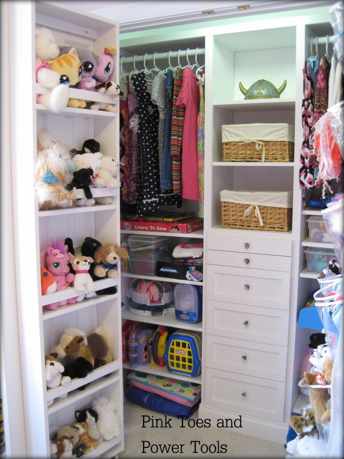How To Build A Closet Organizer The Reveal Pink Toes